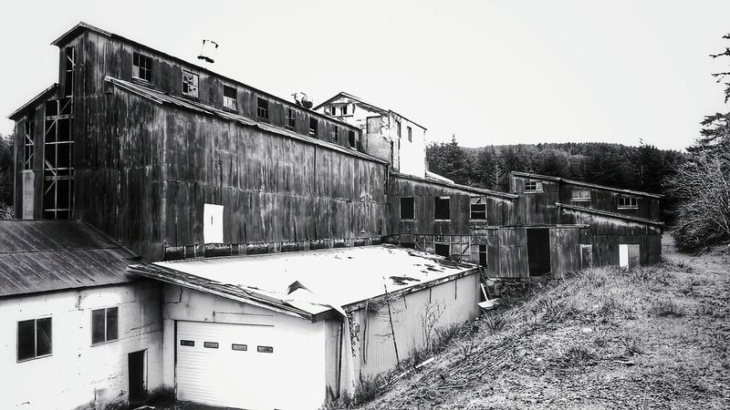 Coquille Oregon, March 2016. Abandonedbuilding, Abandoned Factory, Hard Times, Black & White, Black And White Collection , Closedforbusiness, Bout That Life.