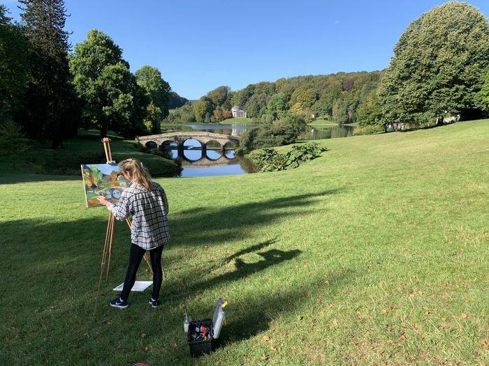 Painting Lake