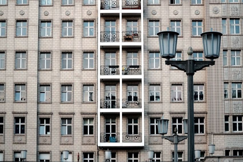 Window Building Exterior Architecture Full Frame Outdoors Built Structure Backgrounds City Balcony Air Conditioner No People Day Berlin Berlinstagram Berlin Photography