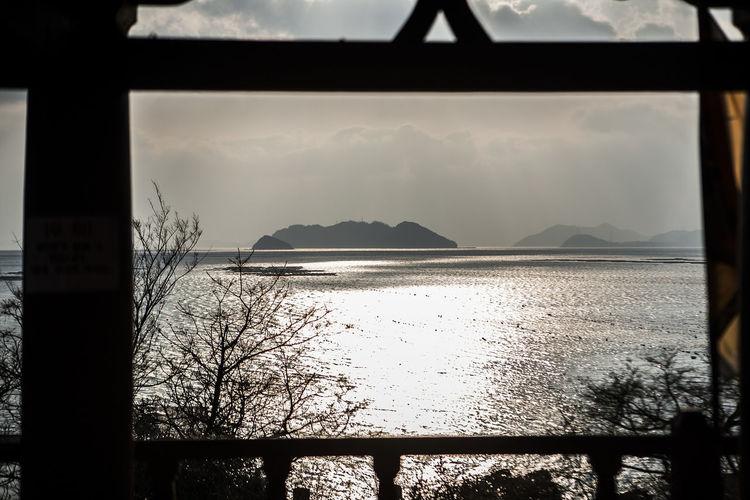 Wando Cheonghaepogu Korea Island Sea Sun Light Reflection Photo In Frame
