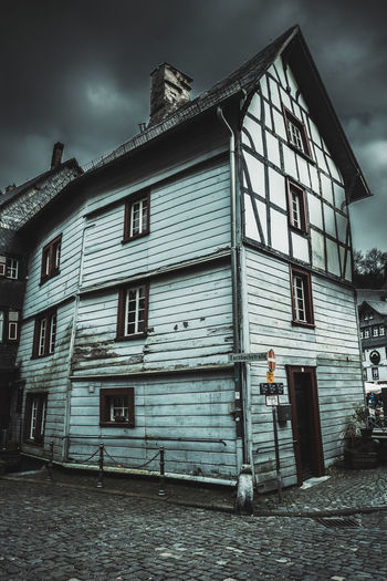 Funny houses in