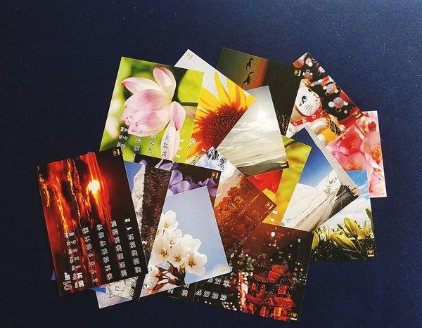 早くも出来たオリジナルカレンダー📅 Japan Healing Healig Calendar カレンダー オリジナル Original