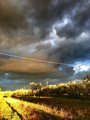 Sky Drama Great Atmosphere