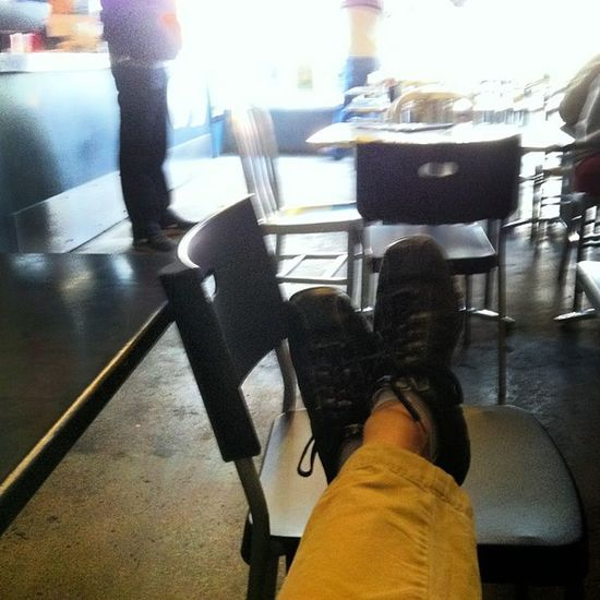 Where did my feet take me today? Vibram Lunchdatewithmywife Adventure Fivefingers