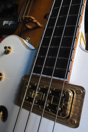 Arts Culture And Entertainment Close-up Electric Guitar Fretboard Gretsch Gretsch Guitars Guitar Guitar Pickups Indoors  Music Musical Equipment Musical Instrument Musical Instrument String No People Pickup Rock Music String Instrument Vintage Guitar