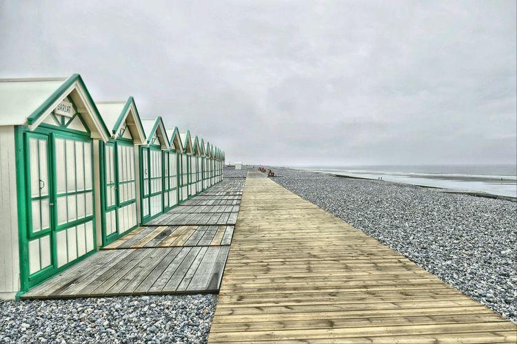 Cayeux Sur Mer France Cote D'Albatre Beach Outdoor Seascape Manche Hdr_Collection HDR