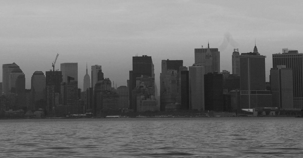 New York City new york Staten Island 6 Years Ago Remember Change Skyline New York Financial District  NYC Photography Blackandwhite Black And White Photography