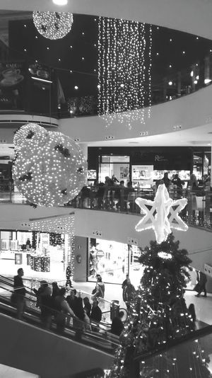Blackandwhite Chistmastree Merry Christmas! Balck And White