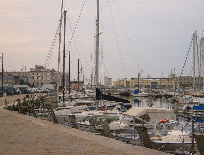 Boats Day Harbor Italia Italie Italien Italy Italy❤️ Italy🇮🇹 Marina Mast Mode Of Transport Moored Nature Nautical Vessel No People Outdoors Sailboat Sea Sky Transportation Triest Trieste Water Yacht