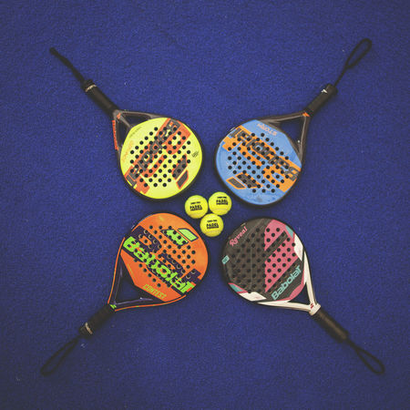 3 4 Padel Balls Indoors  Paddle Racket Sport Rackets