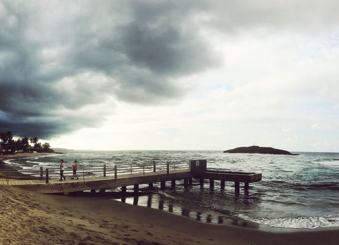 Sea Water Sky Nature Scenics Tranquility Beach Beauty In Nature Outdoors Tranquil Scene Cloud - Sky No People Day