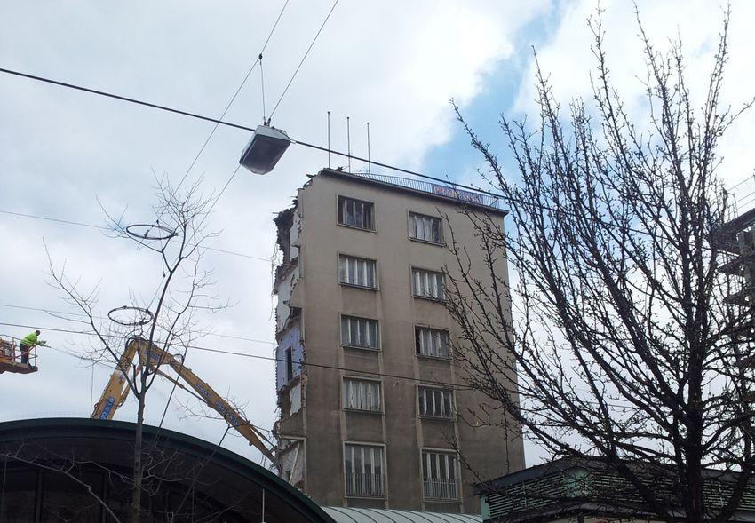 City House Demolition Architecture
