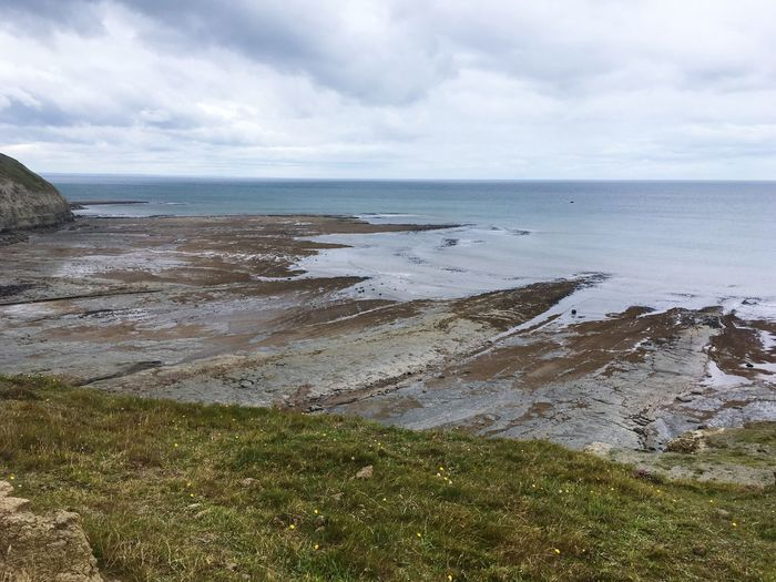The Edge EyeEm Selects Water Sea Beach Land Beauty In Nature Sky Cloud - Sky Horizon Over Water Scenics - Nature Tranquility Horizon Nature Tranquil Scene Day No People Sand Idyllic Outdoors Non-urban Scene