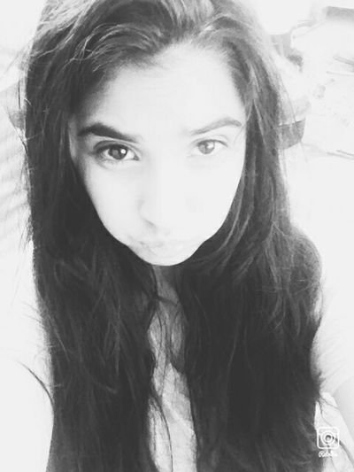 Blackandwhite Selfie ✌ Idk Lol Tuesdayselfie Fun