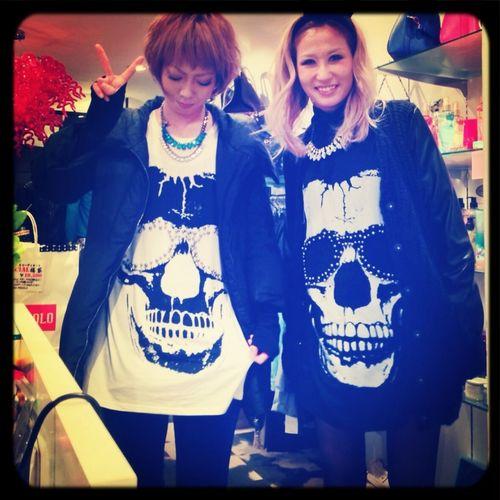 Matching outfits♡Ai&Chinami