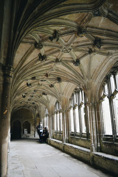 Abbey Light Arch Architectural Column Architecture Built Structure Ceiling Day History Indoors  Low Viewpoint No People Stone The Way Forward Window