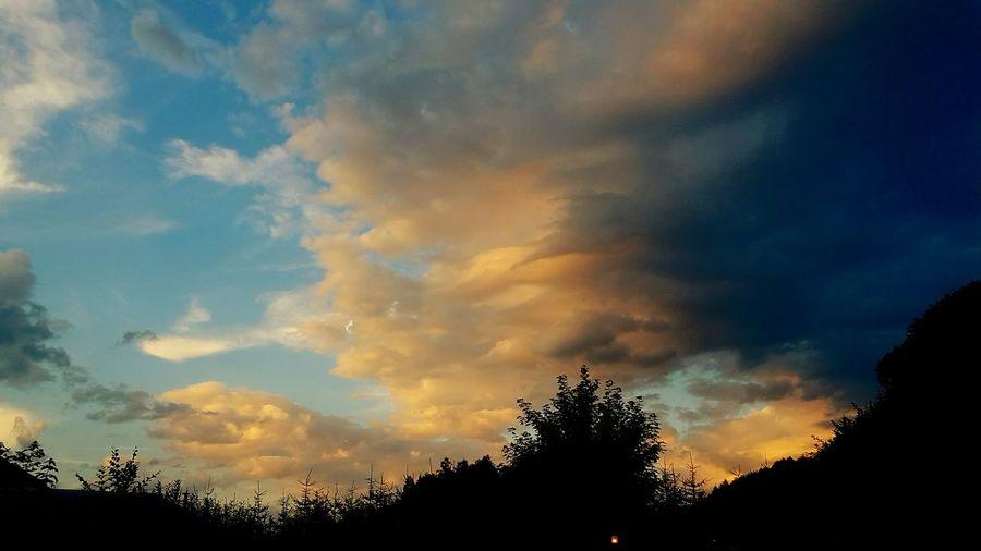 Wolken Sonnenuntergang Geilo Nice Ferien 2016