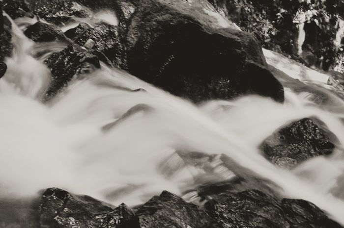 EyeEm Selects Water Long Exposure Waterfall Scenics Beauty In Nature Outdoors Landscape River Nature Motion Blackandwhite Photography Hobby Photography