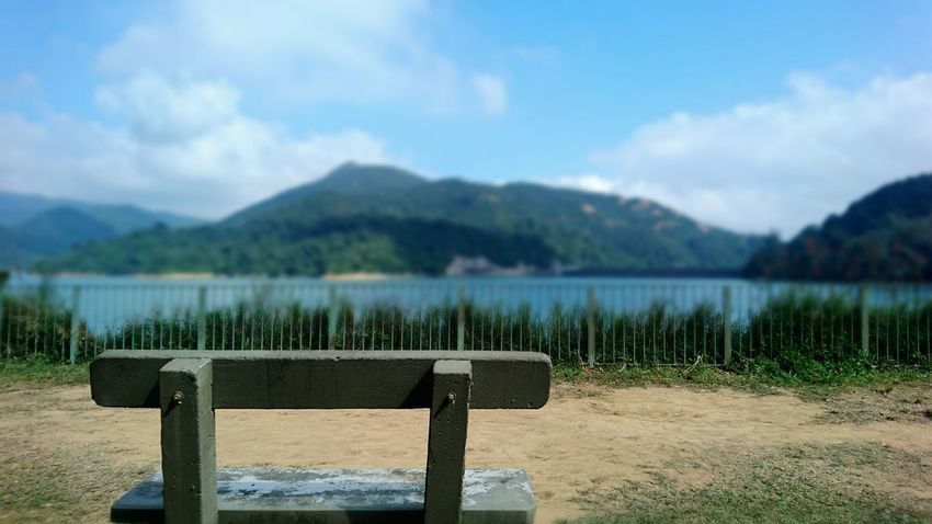 Nature Beauty In Nature Sea Mountain Sky Tranquil Scene Water Scenics No People Tree Outdoors Beach Tranquility Nature Of Beauty Hong Kong Shing Mun Reservoir Environmental Conservation Beauty In Nature Reservoir Freshness Autumn Harmony With Nature Landscape Day Vacations