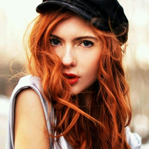 Beauty EyeEm Hd Wallpapers Redhair Awesomepic