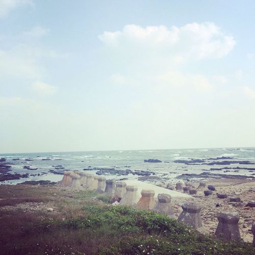看著天空放空 聽著海浪聲音? 吹著涼涼海風 就想到聽海の歌 #Seabreeze#Gongliao
