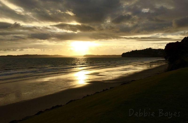Red Beach Sunrise