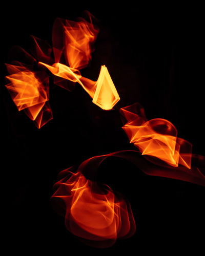 THE ART OF FIRE Lightpainting without Photoshop or something like that! Lightpainting Lightpaintingoftheday Lightpainting Lightpainting Photography Exposure Aperture Shutterspeed Lightpainting_photography Lightpaintingbrushes Abstract No People Black Background Flame Motion Burning Red