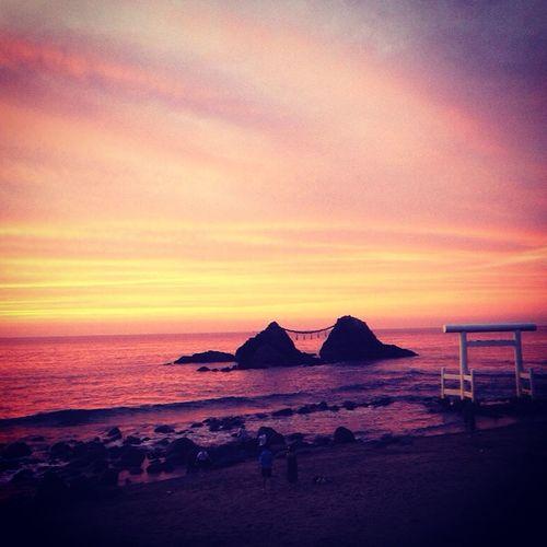 二見ヶ浦 糸島 福岡 二見ヶ浦 日本 Fukuoka Japan Itoshima IPhone5 Sunset 夕焼け