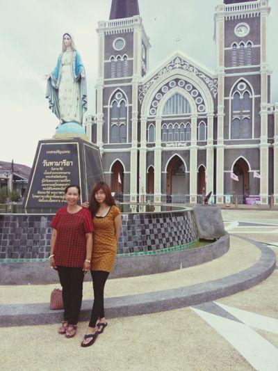 ง่าา กะมี๊ .. โบสถ์ คาทอลิก จันทบุรี จั