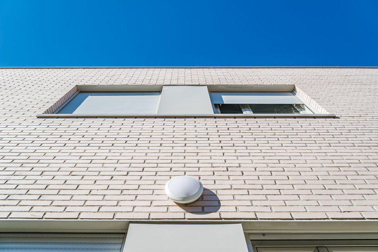 Modern architecture brick house
