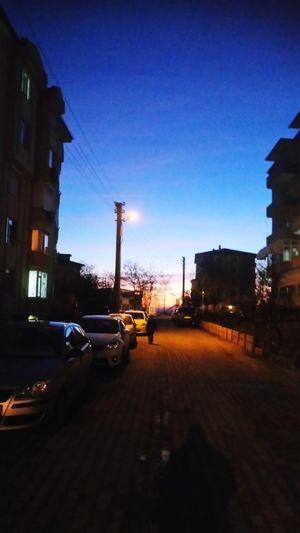 Edirne'de gün batımı... Sunset in Edirne... Edirne Gece Manzara Landscape Landscape_Collection EyeEm Nature Lover EyeEm Best Shots City Night Architecture