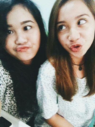 With bff haha Wackyface