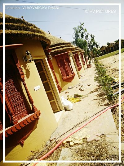 Huts Hotel Resort Picspv Village Rajasthan Hanging Out Taking Photos