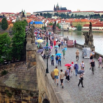Still plenty of shots from holidays ? this one is from #rainy #charlesbridge in #prague ⛅️☔️☔️ #umbrella #citybridges #allshots_ #czech #capture_today #bridge #from_city #gang_family #iccity #igerscz #igers_cz #ic_cities #o2travel #summer #top_masters Capture_today Top_masters Summer From_city Prague Igers_cz Bridge Igerscz Iccity Rainy Citybridges Umbrella Czech Gang_family Charlesbridge Allshots_ Ic_cities O2travel