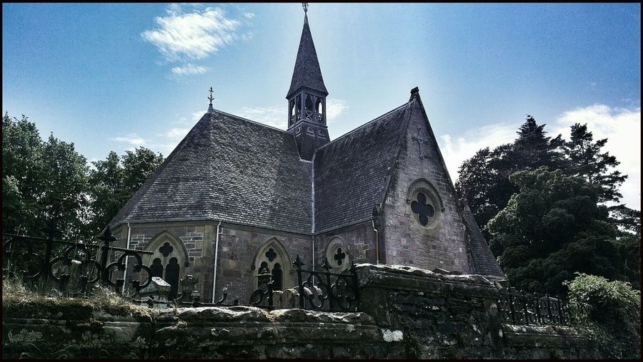 Architecture Church Buildings Scotland