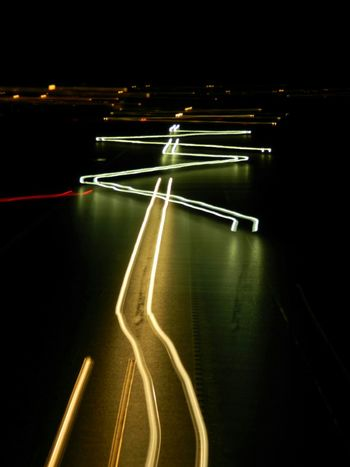 Light trails Darlington  Night Time Light Trails Dark Cars Genuine As Is Slow Shutter Photography In Motion Need For Speed