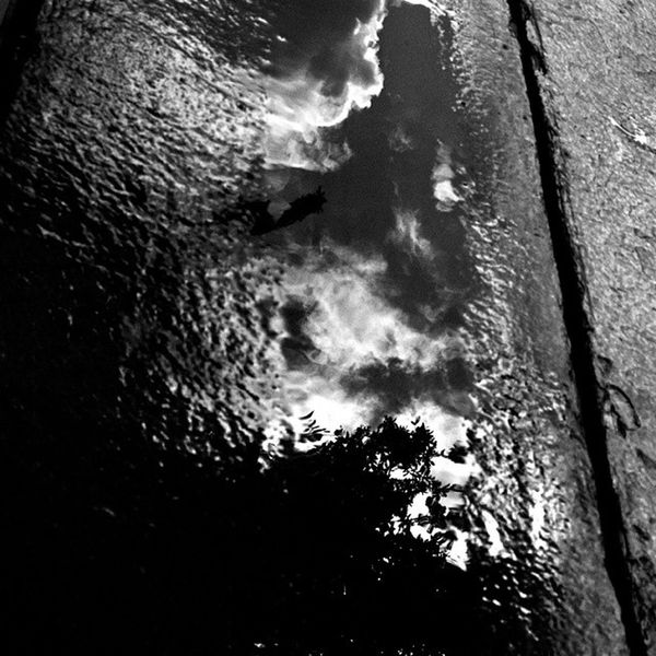 Water reflection! Water Reflect Lookdown SeeTheSky table sky clouds noedit blackandwhite pretty life beautiful photography WhatIs