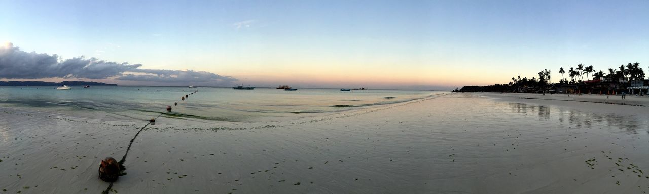 Boracay Philippines before sunrise 80 degrees warm water and white sugary sand IPhoneography Landscape_Collection Water_collection Swimming Negative Space Just Around The Corner Endlessness My Country In A Photo The Great Outdoors - 2015 EyeEm Awards The Adventure Handbook