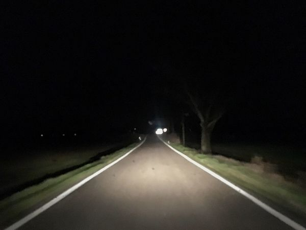 Little path to nowhere Nightphotography Road Driving Light Shadows & Lights Commuting Urban Landscape Night Lights Cityscapes