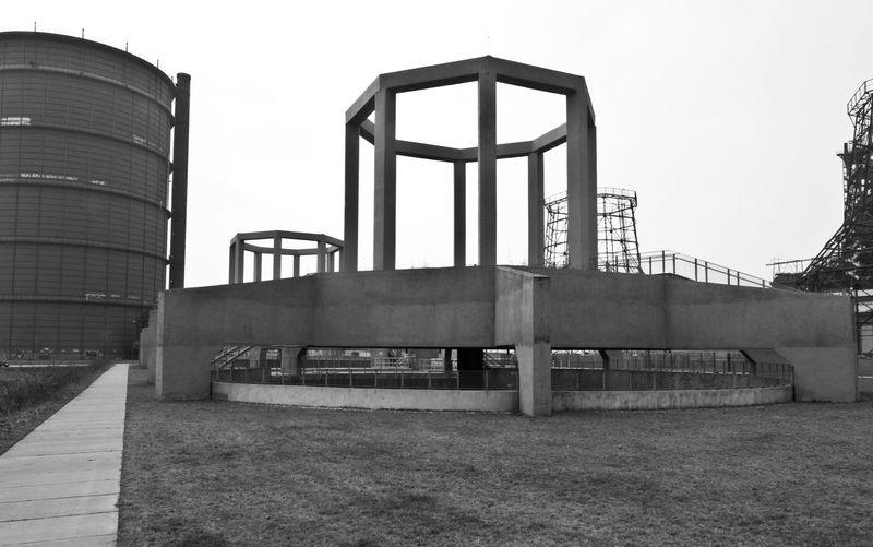 Beton Kühltürme Dortmund Industriekultur Built Structure Industrie Phönix
