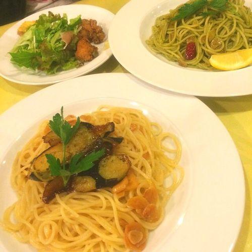 Pasta Spaghetti Food Diner Yum Garlic