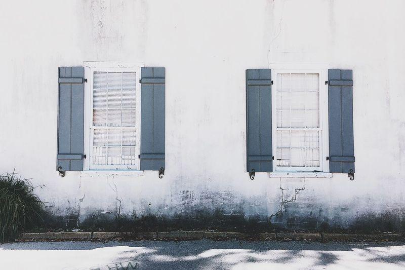Wall. Window