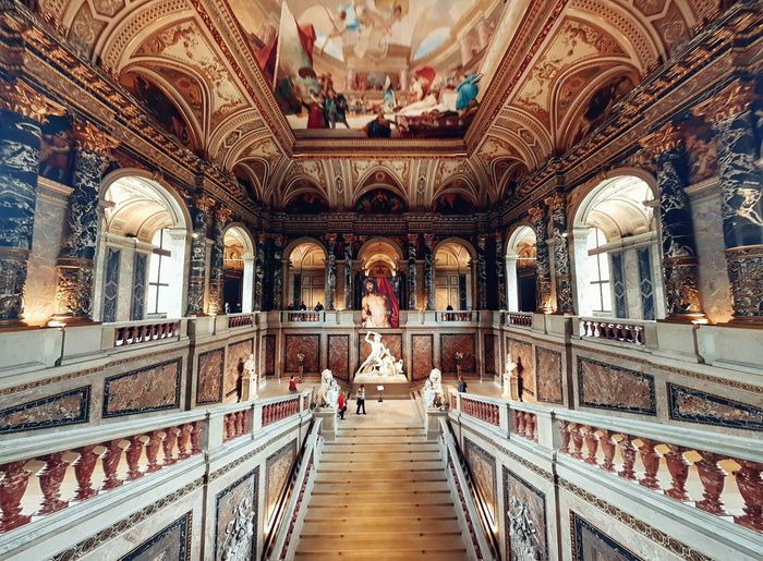 Royal interior Indoors  Architecture Travel Destinations No People Day Vienna_city Vienna, Austria Architecture