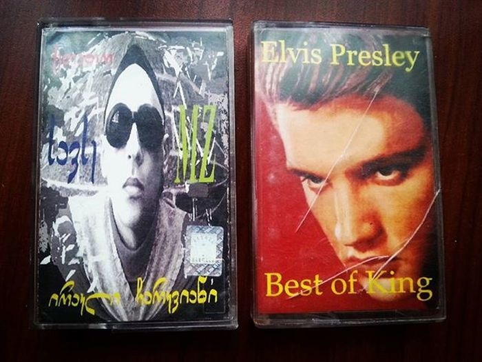 Two Kings Irakli Charkviani Elvis Presley Cassettes of my Childhood