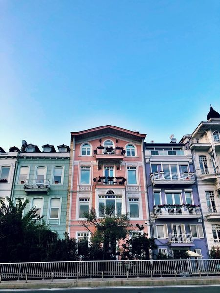 Weekend in Istanbul Bonibon Weekend Street Arnavutkoy Istanbul Architecture Built Structure Sky Building Exterior Building Clear Sky No People