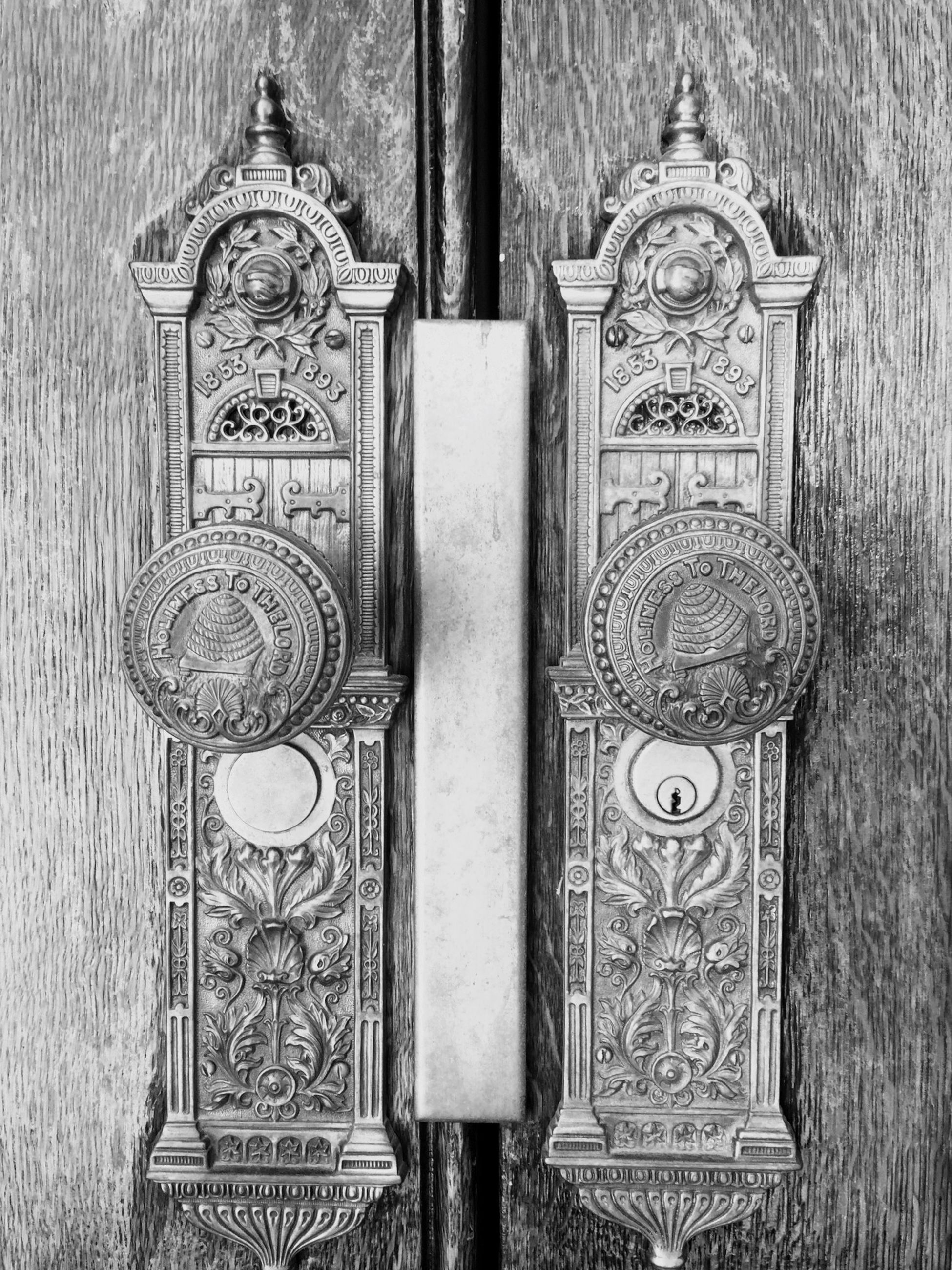 door, wood - material, religion, old, wooden, close-up, closed, spirituality, metal, ornate, old-fashioned, church, protection, place of worship, wall - building feature, wood, built structure, security, cross