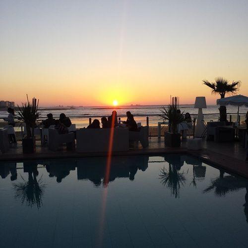 No filter needed 🌅 Zimerbeach Mohammedia Sunset Sunsetlovers sunsetporn vsco vscocam morocco vscomorocco inMorocco loves_morocco ig_morocco
