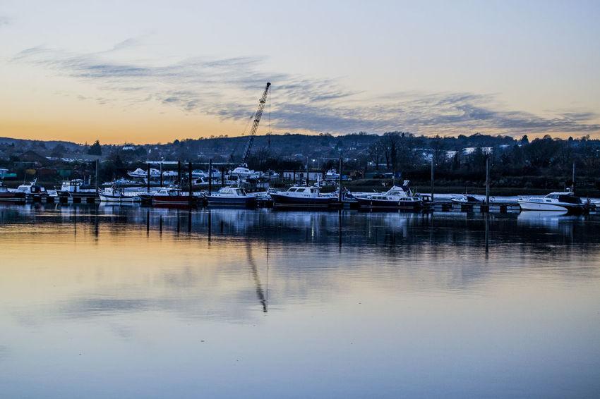 Calm waters Water Reflections Artistic Boats⛵️ Relaxing Beautiful View