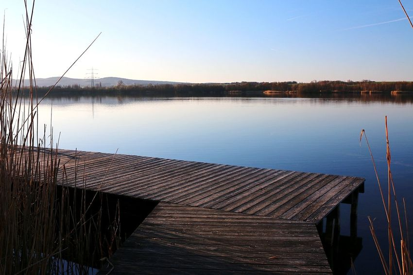 Water Reflection Lake Nature Outdoors Sky No People Singliser See Nordhessen Spring Springtime Nature Canon EOS 70D Spring Has Arrived
