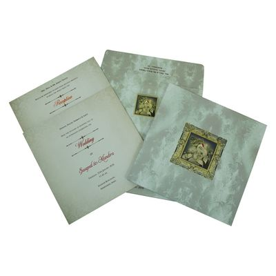Hindu Wedding Invitation - W-2306 - 123WeddingCards 123WeddingCards Hindu Invitations Hindu Cards Hindu Wedding Cards Hindu Wedding Invitation Cards Hindu Wedding Invitations